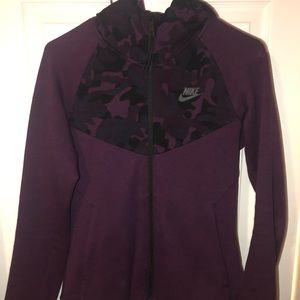 Nike Purple & Camo Women's Tech Fleece Hoodie!!!